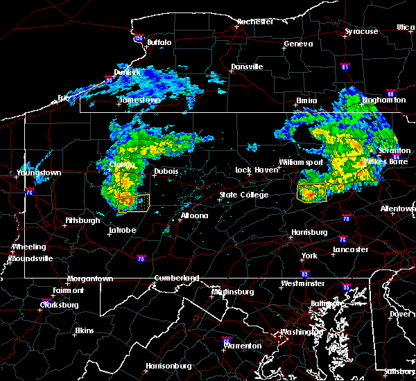 Radar Image for Severe Thunderstorms near Kulpmont, PA at 5/3/2018 4:57 PM EDT