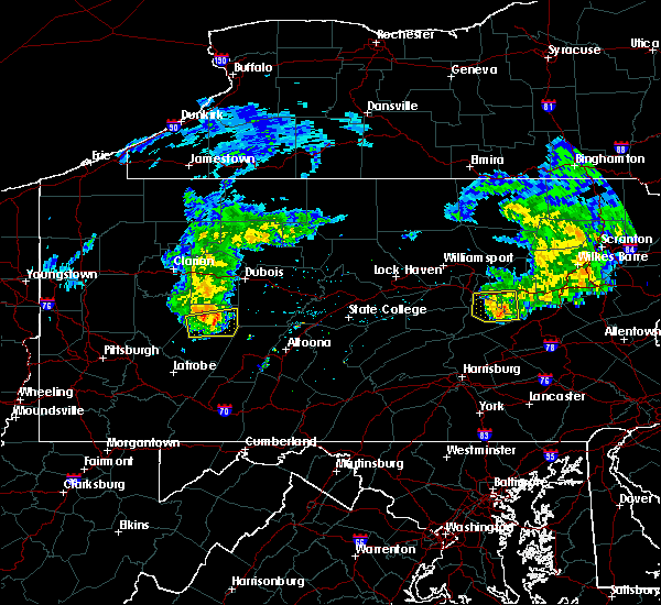 Radar Image for Severe Thunderstorms near Clymer, PA at 5/3/2018 5:01 PM EDT