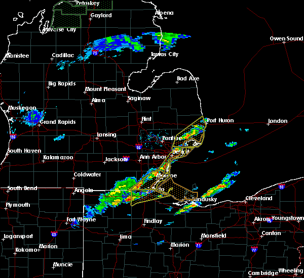 Radar Image for Severe Thunderstorms near Toledo, OH at 5/4/2018 1:23 PM EDT