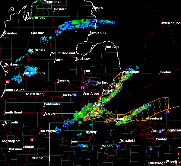 Radar Image for Severe Thunderstorms near Toledo, OH at 5/4/2018 1:44 PM EDT