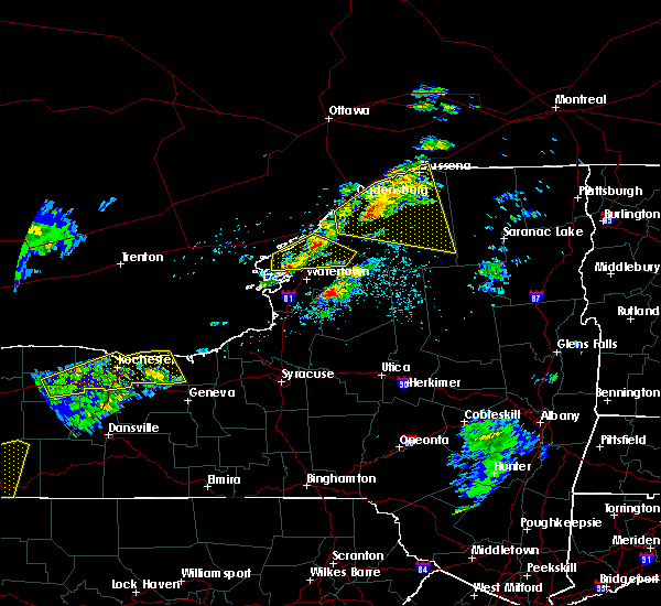 Radar Image for Severe Thunderstorms near Heuvelton, NY at 5/4/2018 4:25 PM EDT