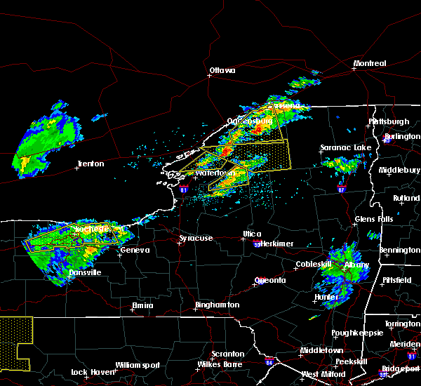Radar Image for Severe Thunderstorms near Heuvelton, NY at 5/4/2018 4:43 PM EDT