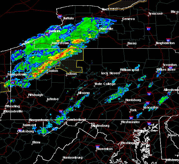 Radar Image for Severe Thunderstorms near Vowinckel, PA at 5/4/2018 4:49 PM EDT
