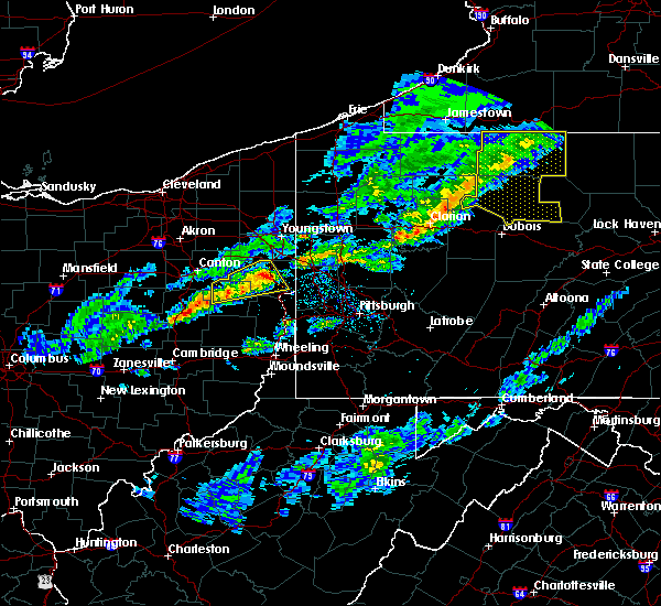Radar Image for Severe Thunderstorms near Leetonia, OH at 5/4/2018 5:05 PM EDT