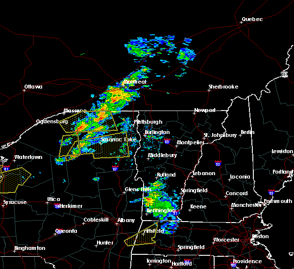 Radar Image for Severe Thunderstorms near Wilmington, NY at 5/4/2018 5:32 PM EDT