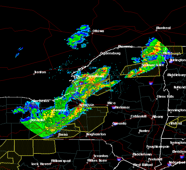 Radar Image for Severe Thunderstorms near Lyncourt, NY at 5/4/2018 6:02 PM EDT