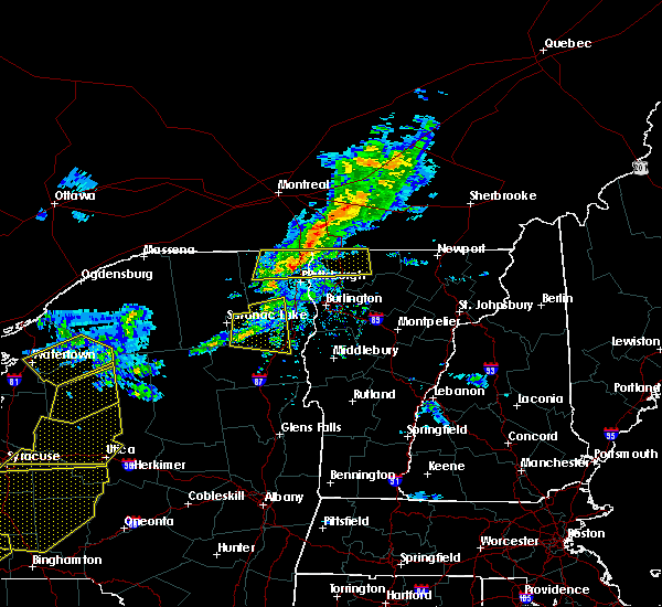 Radar Image for Severe Thunderstorms near Wilmington, NY at 5/4/2018 6:18 PM EDT