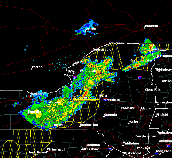 Radar Image for Severe Thunderstorms near Heuvelton, NY at 5/4/2018 6:20 PM EDT