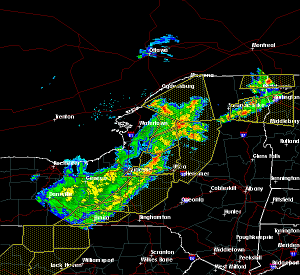 Radar Image for Severe Thunderstorms near Frankfort, NY at 5/4/2018 6:27 PM EDT