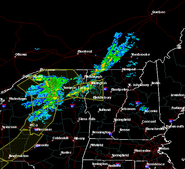 Radar Image for Severe Thunderstorms near Paul Smiths, NY at 5/4/2018 6:54 PM EDT