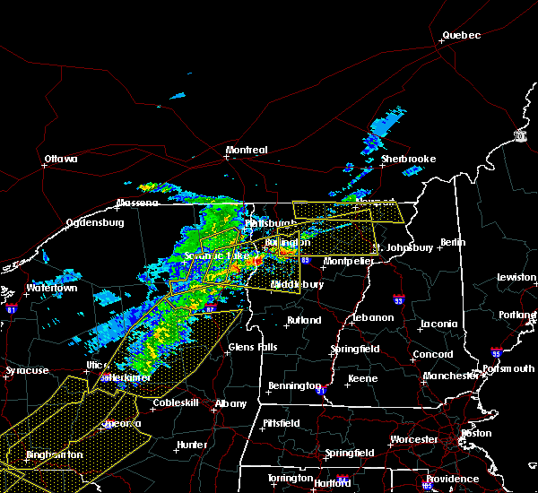 Radar Image for Severe Thunderstorms near Au Sable Forks, NY at 5/4/2018 7:26 PM EDT