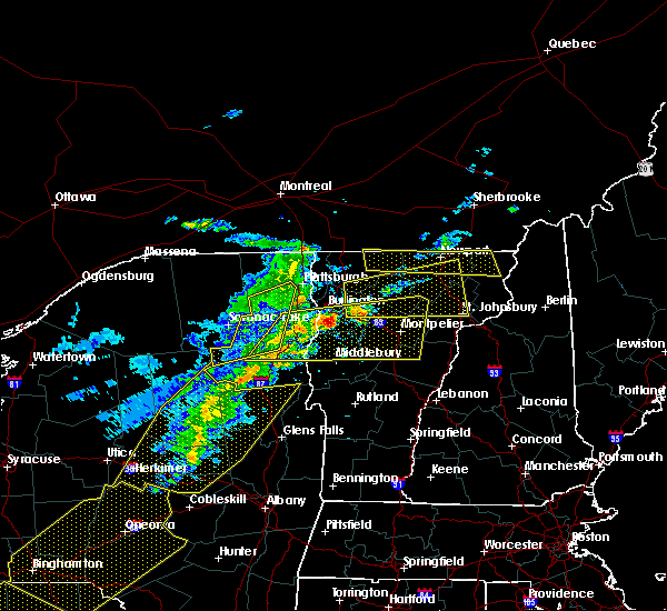 Radar Image for Severe Thunderstorms near South Burlington, VT at 5/4/2018 7:33 PM EDT