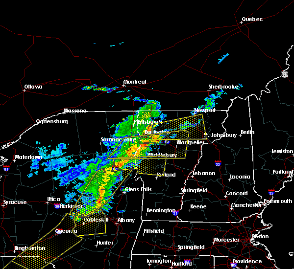 Radar Image for Severe Thunderstorms near South Burlington, VT at 5/4/2018 7:51 PM EDT