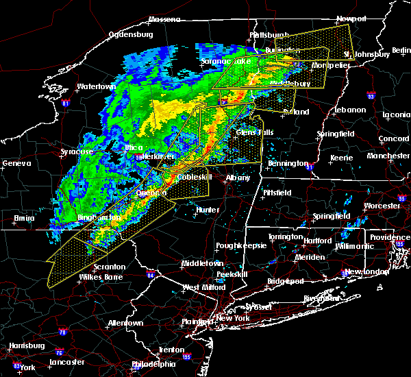 Radar Image for Severe Thunderstorms near Gloversville, NY at 5/4/2018 7:54 PM EDT