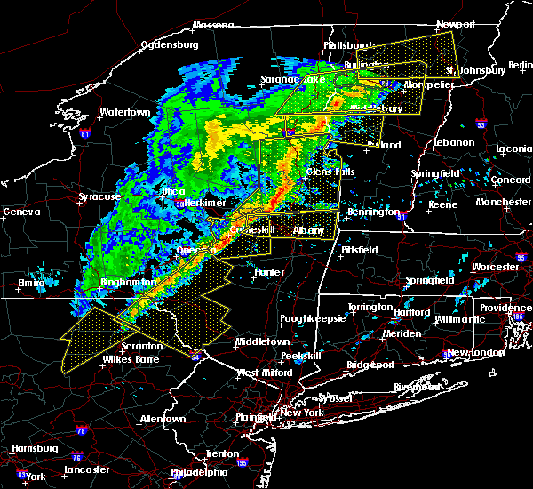 Radar Image for Severe Thunderstorms near Rotterdam, NY at 5/4/2018 8:03 PM EDT