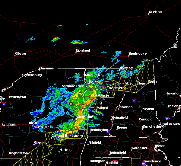 Radar Image for Severe Thunderstorms near South Burlington, VT at 5/4/2018 8:21 PM EDT
