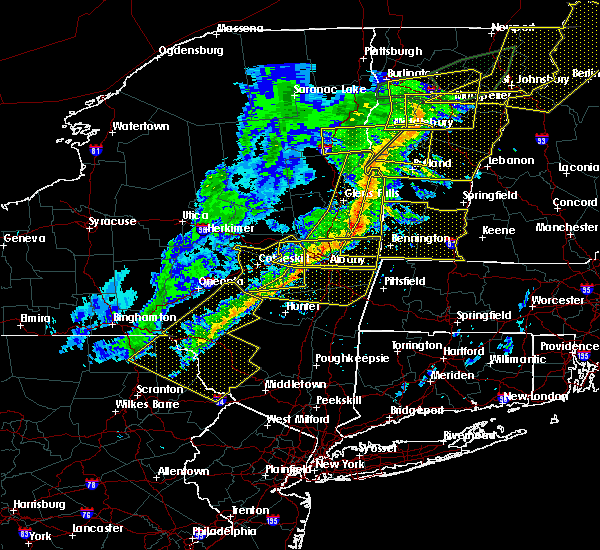 Radar Image for Severe Thunderstorms near Rotterdam, NY at 5/4/2018 8:31 PM EDT