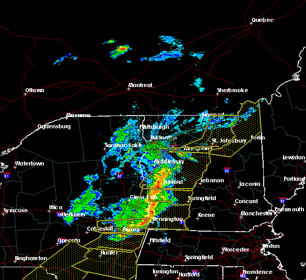 Radar Image for Severe Thunderstorms near Berlin, NH at 5/4/2018 8:40 PM EDT