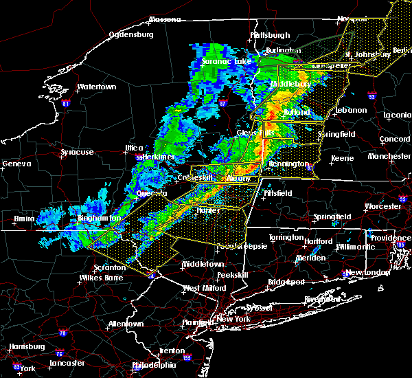 Radar Image for Severe Thunderstorms near Chatham, NY at 5/4/2018 8:40 PM EDT