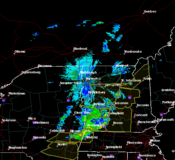 Radar Image for Severe Thunderstorms near Berlin, NH at 5/4/2018 9:14 PM EDT
