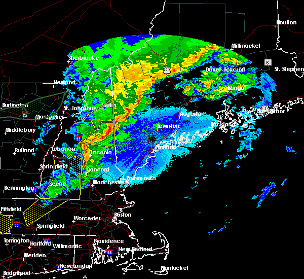 Radar Image for Severe Thunderstorms near Milton, NH at 5/4/2018 10:09 PM EDT