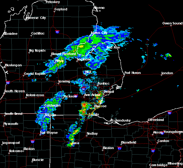 Radar Image for Severe Thunderstorms near Toledo, OH at 5/6/2018 2:49 PM EDT