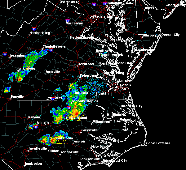 Radar Image for Severe Thunderstorms near Speed, NC at 5/6/2018 5:21 PM EDT