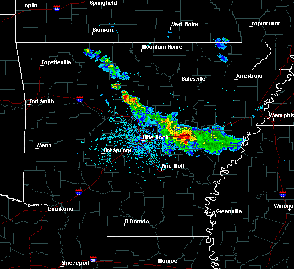 Radar Image for Severe Thunderstorms near Roe, AR at 5/6/2018 6:04 PM CDT