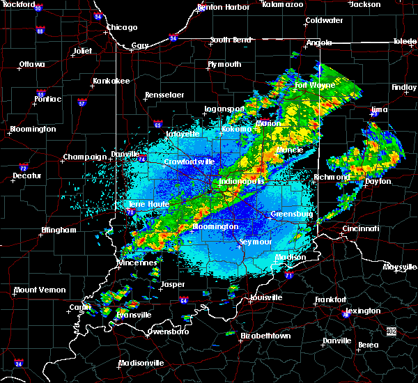 Radar Image for Severe Thunderstorms near New Castle, IN at 5/10/2018 12:32 AM EDT