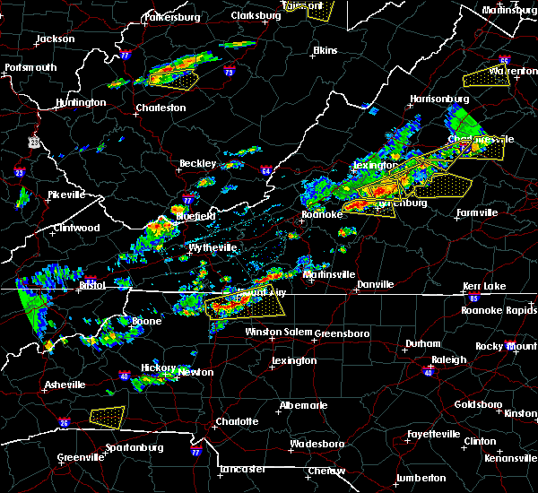 Radar Image for Severe Thunderstorms near Timberlake, VA at 5/10/2018 2:45 PM EDT