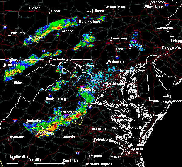 Radar Image for Severe Thunderstorms near Palmyra, VA at 5/10/2018 3:20 PM EDT