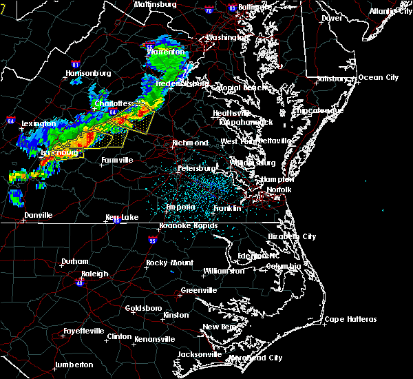 Radar Image for Severe Thunderstorms near Scottsville, VA at 5/10/2018 3:29 PM EDT