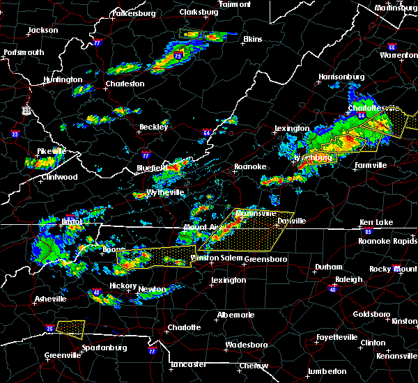 Radar Image for Severe Thunderstorms near Dillwyn, VA at 5/10/2018 3:32 PM EDT