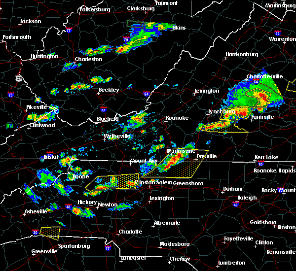 Radar Image for Severe Thunderstorms near Tobaccoville, NC at 5/10/2018 3:50 PM EDT