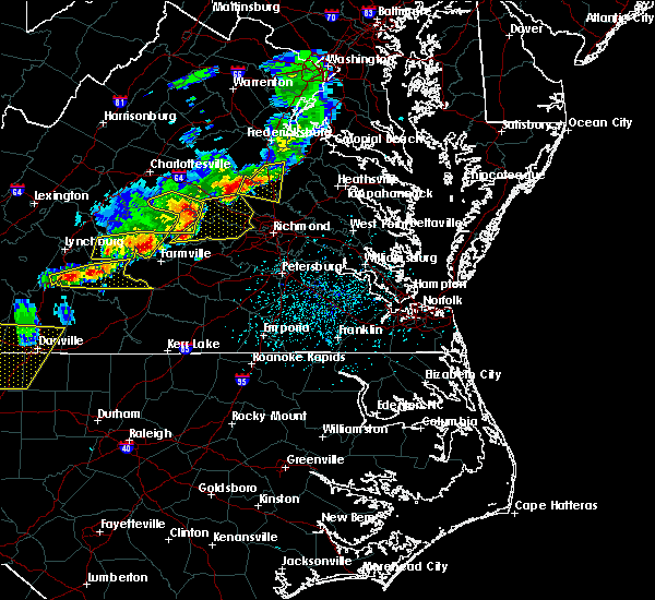 Radar Image for Severe Thunderstorms near Cumberland, VA at 5/10/2018 3:53 PM EDT