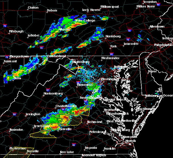 Radar Image for Severe Thunderstorms near Antietam, MD at 5/10/2018 3:56 PM EDT