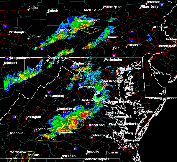 Radar Image for Severe Thunderstorms near Middletown, MD at 5/10/2018 4:09 PM EDT