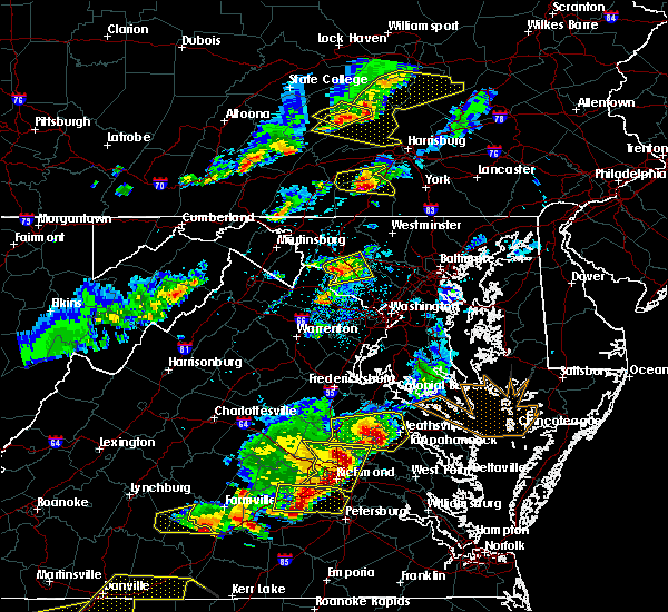 Radar Image for Severe Thunderstorms near Point of Rocks, MD at 5/10/2018 4:46 PM EDT