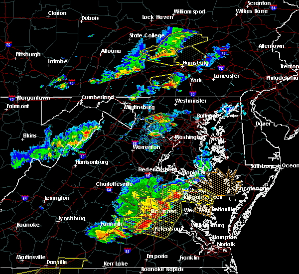 Radar Image for Severe Thunderstorms near Hampton, PA at 5/10/2018 5:00 PM EDT