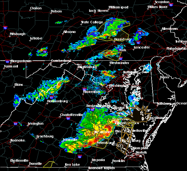 Radar Image for Severe Thunderstorms near Hampton, PA at 5/10/2018 5:15 PM EDT