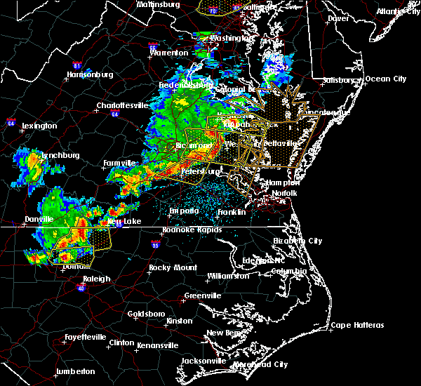 Radar Image for Severe Thunderstorms near Ettrick, VA at 5/10/2018 5:24 PM EDT