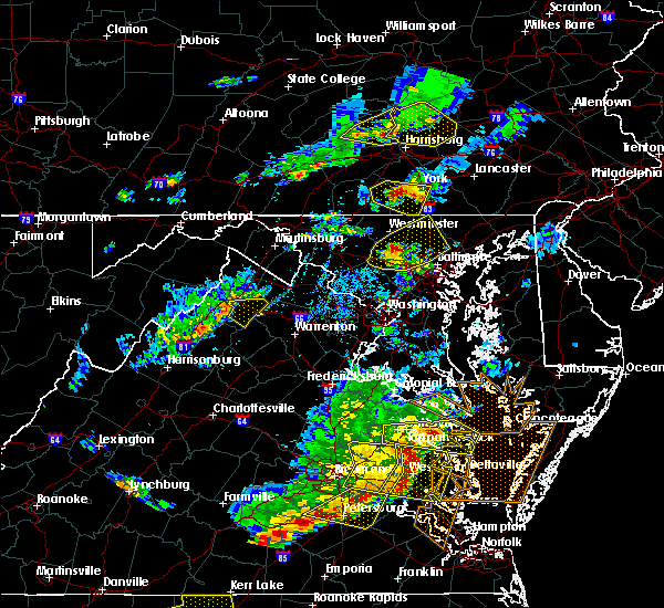 Radar Image for Severe Thunderstorms near Skyland Estates, VA at 5/10/2018 5:30 PM EDT