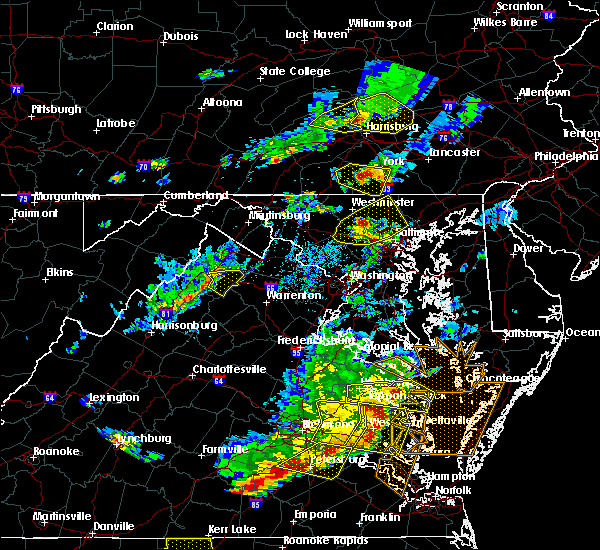 Radar Image for Severe Thunderstorms near Cockeysville, MD at 5/10/2018 5:34 PM EDT