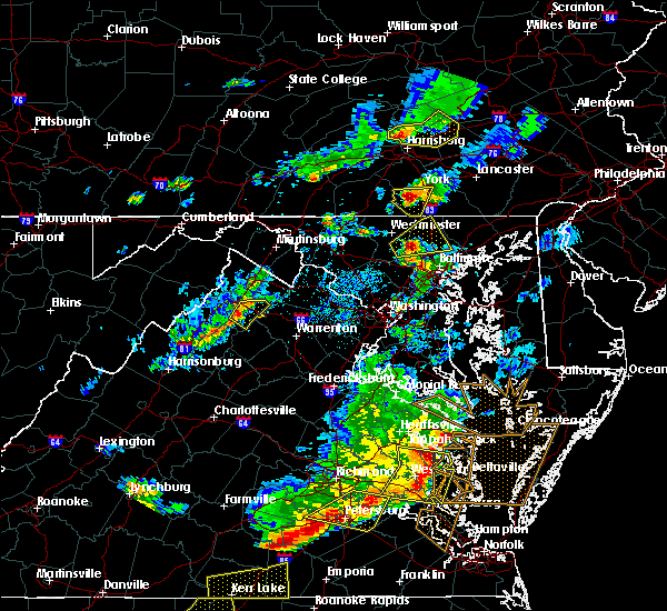 Radar Image for Severe Thunderstorms near Cockeysville, MD at 5/10/2018 5:42 PM EDT