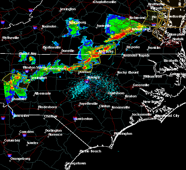 Radar Image for Severe Thunderstorms near Durham, NC at 5/10/2018 5:42 PM EDT