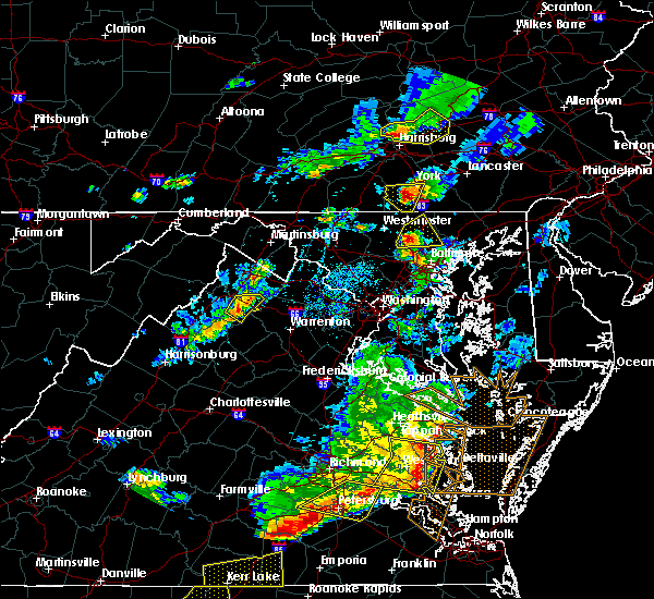 Radar Image for Severe Thunderstorms near Hanover, PA at 5/10/2018 5:43 PM EDT