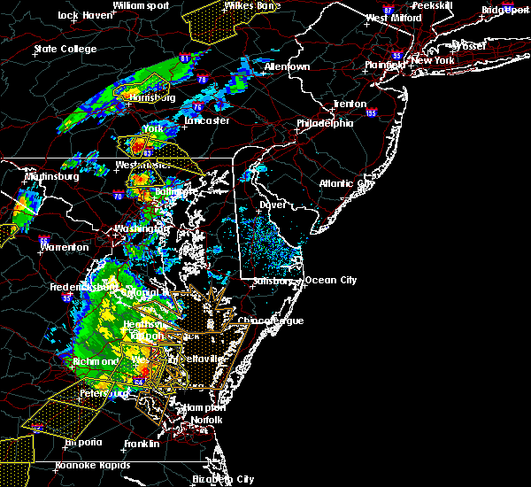 Radar Image for Severe Thunderstorms near Pylesville, MD at 5/10/2018 5:48 PM EDT