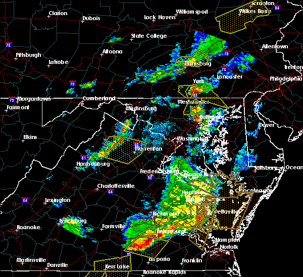 Radar Image for Severe Thunderstorms near The Plains, VA at 5/10/2018 5:52 PM EDT