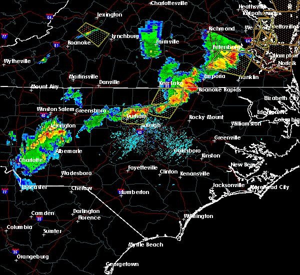 Radar Image for Severe Thunderstorms near Louisburg, NC at 5/10/2018 6:32 PM EDT
