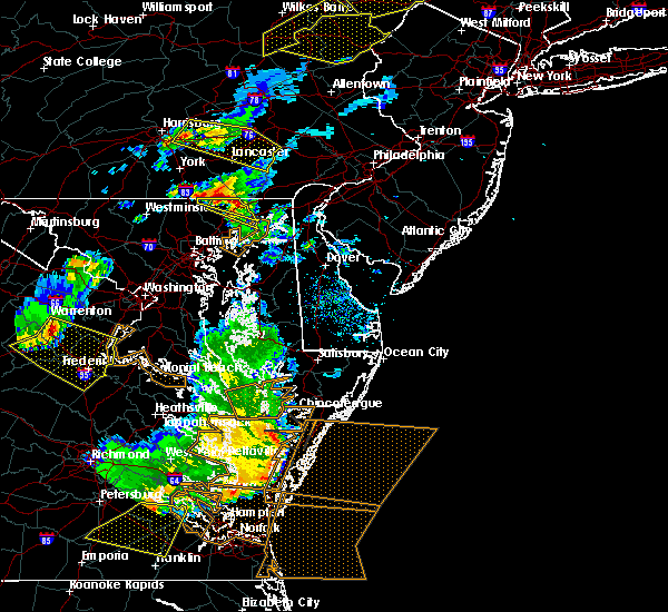 Radar Image for Severe Thunderstorms near Aberdeen, MD at 5/10/2018 6:41 PM EDT